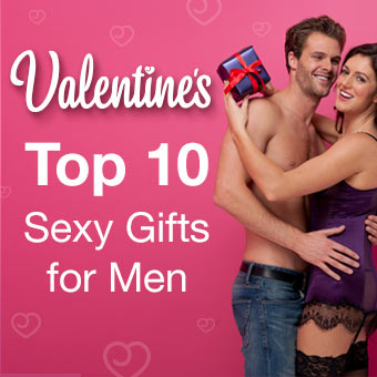 Top Ten Valentine's Gifts for men from Lovehoney