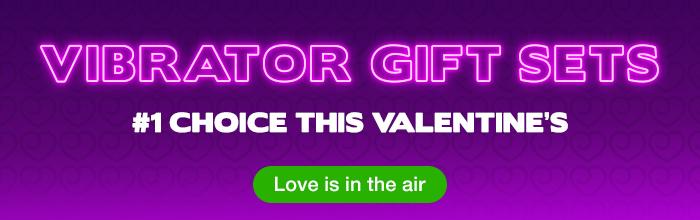 ^ Valentine's Vibrator Gift Sets