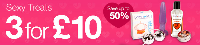 Save up to 50% on Sexy Valentines Gifts