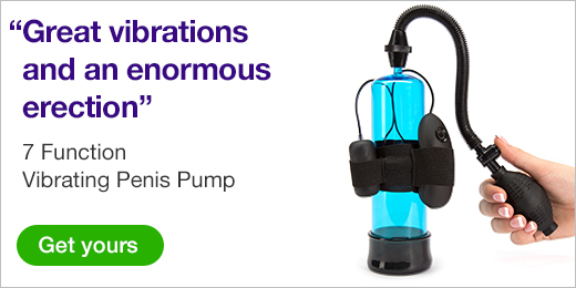 ^ 7 Function Vibrating Penis Pump