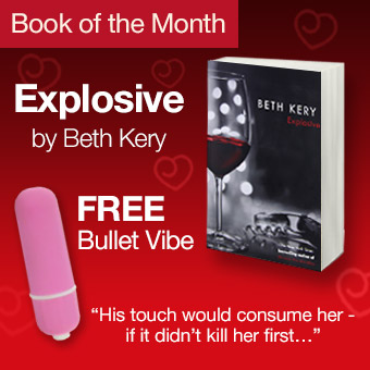 Get our book of the month and receive a free bullet vibrator