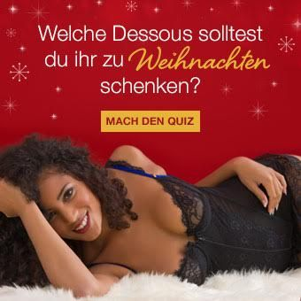 Mach den Lovehoney Dessous Quiz