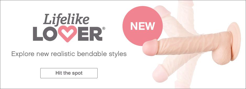 Lifelike Lover New Bendable Styles