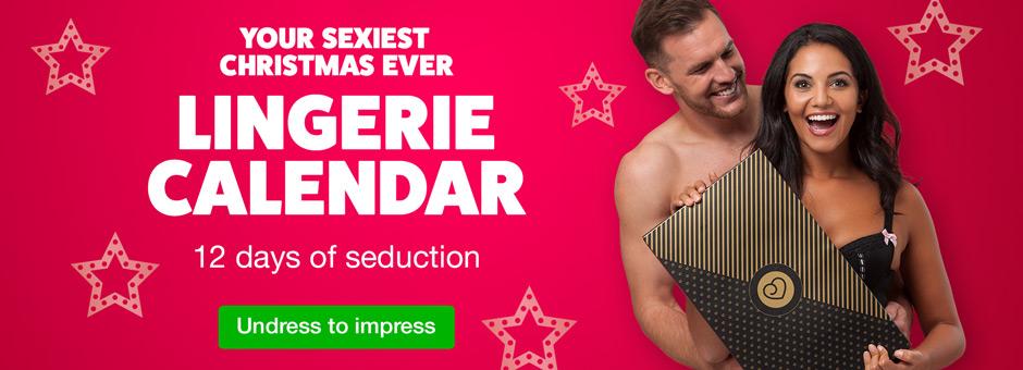 Your Sexiest Christmas Ever Lingerie Calendar