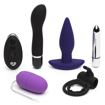 Lovehoney Hot Date Remote Control Couple's Sex Toy Kit