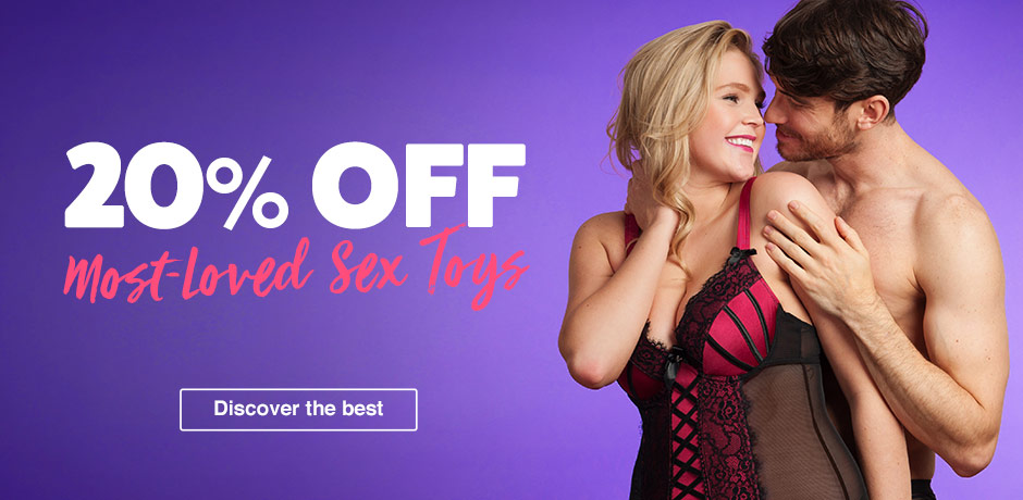 20% off most loved sex toys