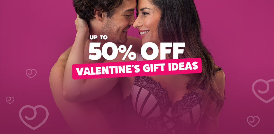 Up to 50% off Valentine's Gift Ideas
