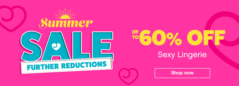 Up to 60% off sexy lingerie