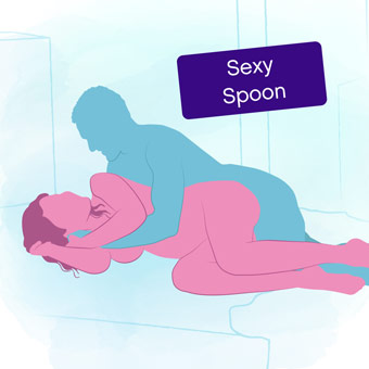 Position of the week: Sexy Spoon