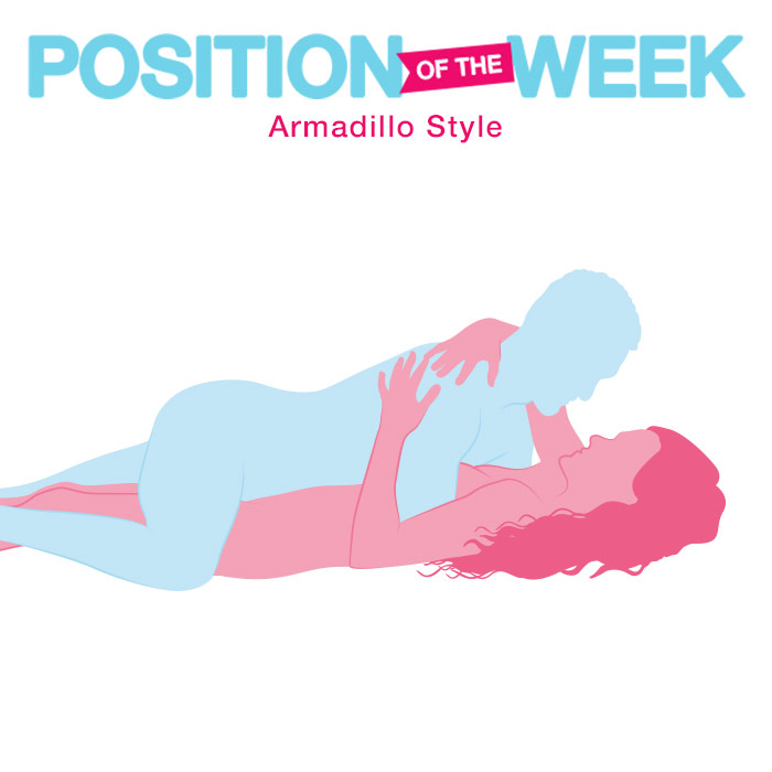 Position of the Week: Armadillo Style