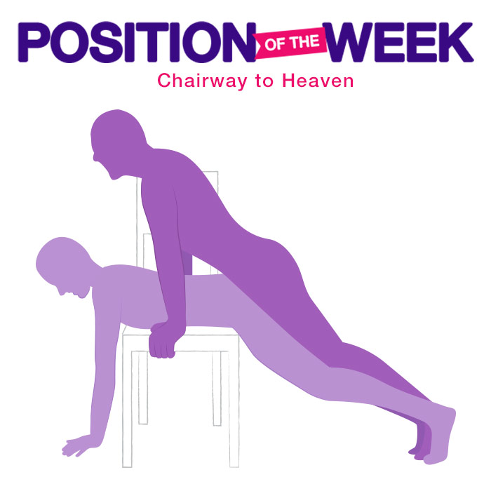 Position of the Week: Chairway to Heaven