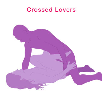 Best Sex Positions for Small Penises - Crossed Lovers