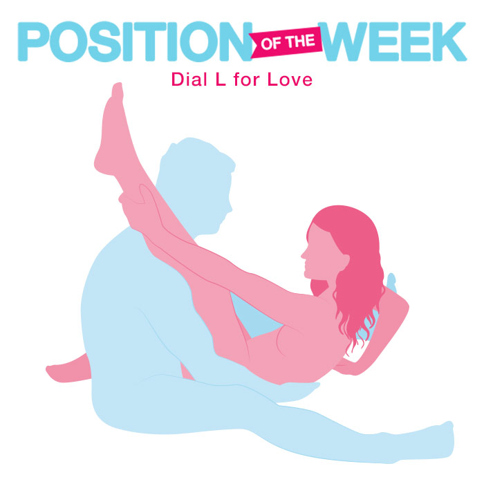 Position of the Week Dial L For Love