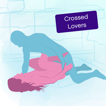 Position of the week: Crossed Lovers