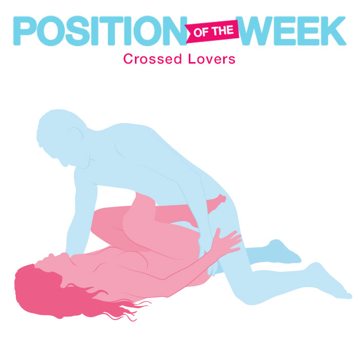 Position of the week: Crossed Lovers