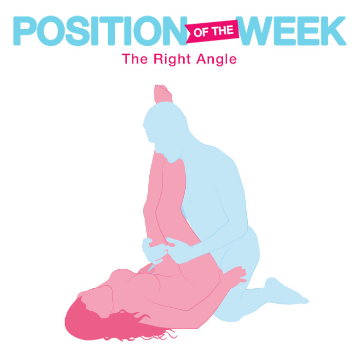 Position of the Week: The Right Angle