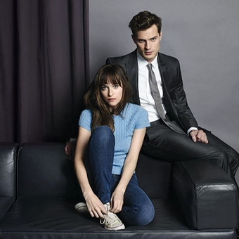 Fifty Shades of Grey - Christian and Ana courtesy of Entertainment Weekly