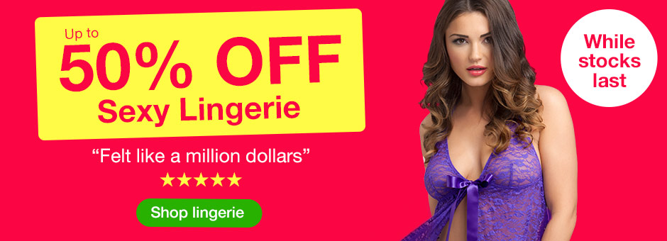 Pre-sale: Up to 50% OFF Sexy Lingerie