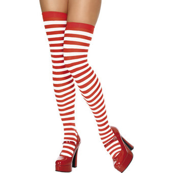 Fever Thigh High Stripey Stockings