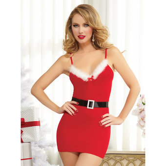 Seven Til Midnight Saint Kiss Sexy Santa Dress