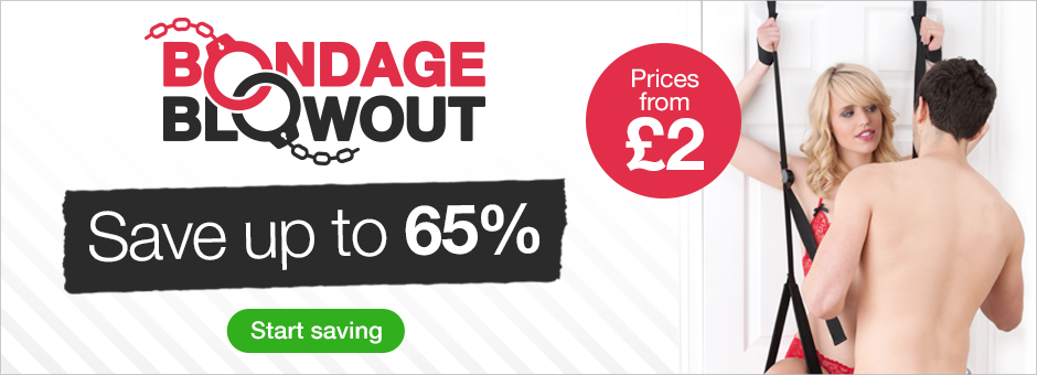 Bondage Blowout Save up to 65%
