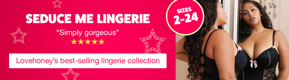 Seduce Me - Lovehoney's best-selling lingerie collection