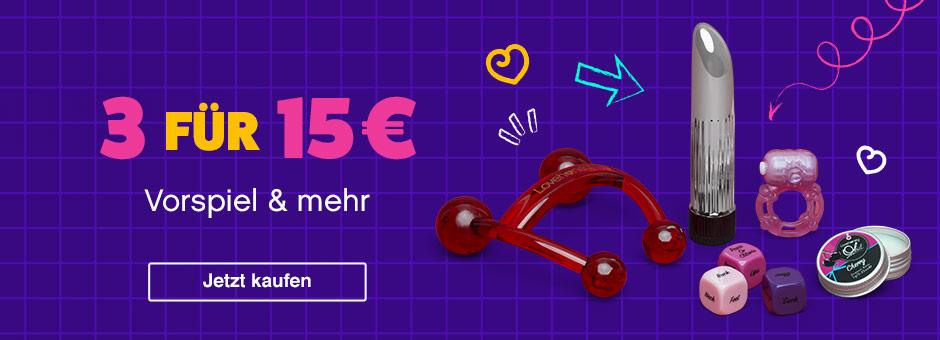 Vorspiel und mehr: 3 Artikel  für 15 €