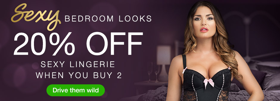 Sexy Bedroom Looks - Save when you buy 2!