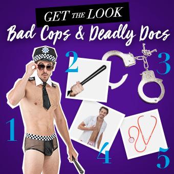 Bad cops & deadly docs halloween costumes