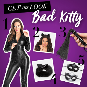 Bad Kitty Halloween costume blog