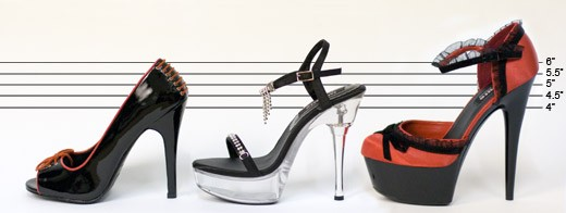 Lovehoney Shoes Line-Up