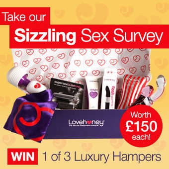Take our Sizzling Sex Survey and win!