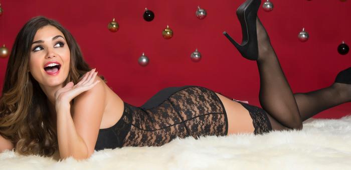 Lovehoney Lingerie Seduce Me Dessous zu Weihnachten