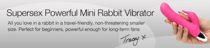 supersex powerful mini rabbit vibrator