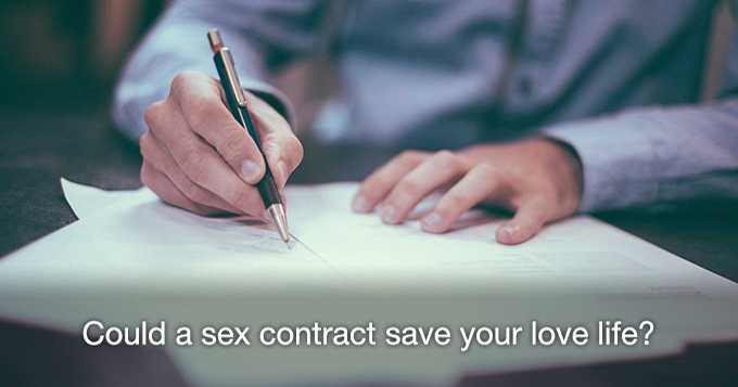 sex contract agreement