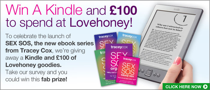 Win a Kindle and £100 to spend at Lovehoney!