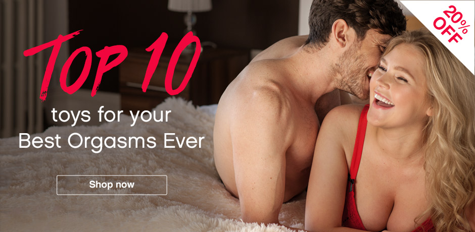 20% OFF Toys for your Best Orgasms Ever