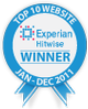 Winner, Hitwise Top 10 Website Award: Intimate Apparel and Accessories, Experian Hitwise