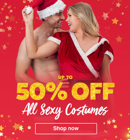 Up to 50% off all sexy costumes