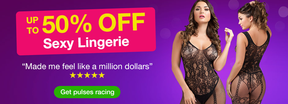 Up to 50% off Sexy Lingerie