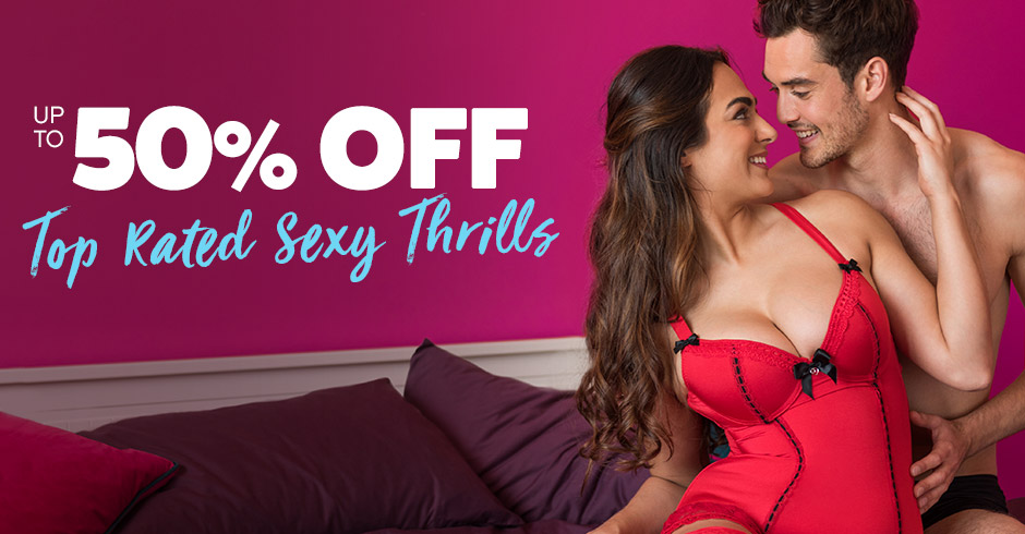 Up to 50% off Top Rated Sexy Thrills