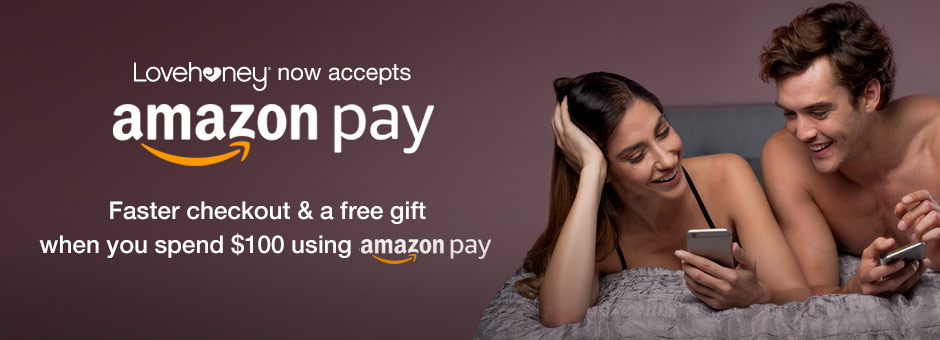 Faster checkout and a free gift when you spend $100 using Amazon Pay