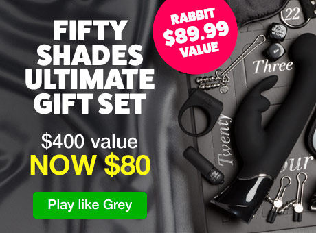 Fifty Shades Ultimate Gift Set US - $80
