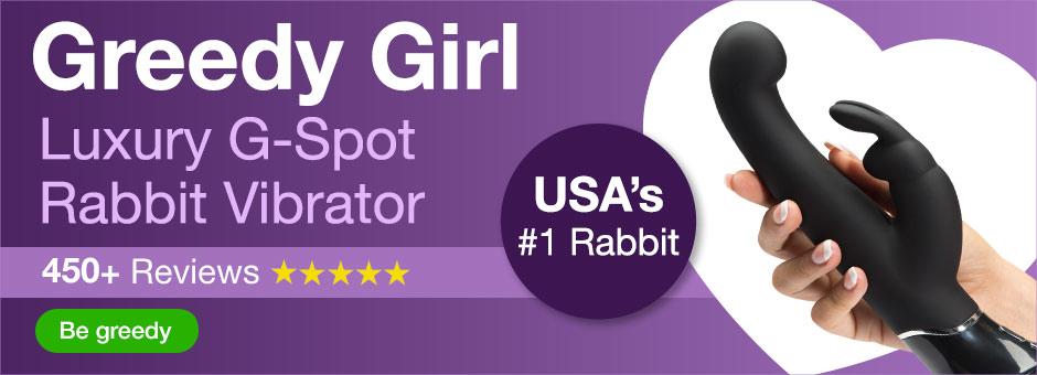 Greedy Girl Rabbit Graphics US