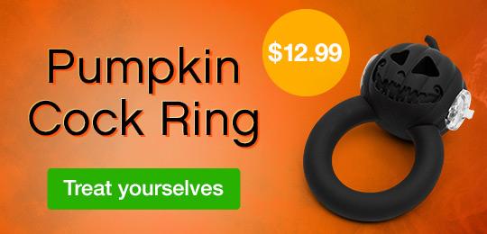 Pumpkin Cock Ring