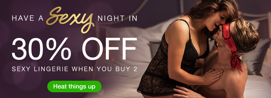 30% off when you buy 2 sexy lingerie