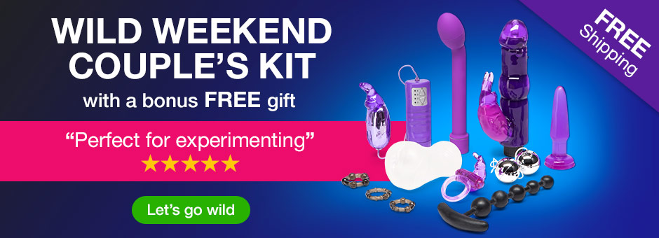 Wild Weekend Couples Kit with a FREE Gift
