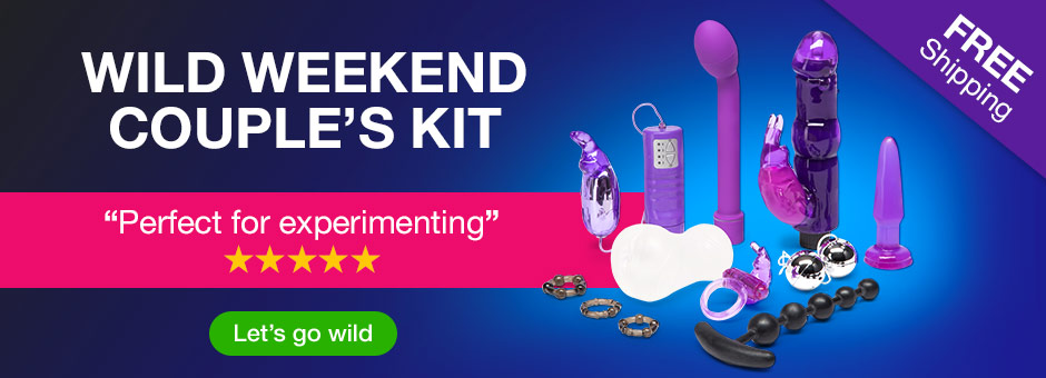 Wild Weekend Couple's Sex Toy Kit