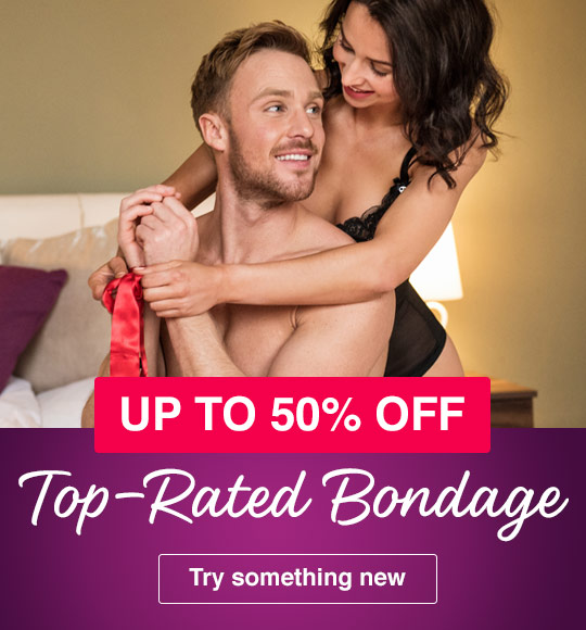 Up to 50% off bondage