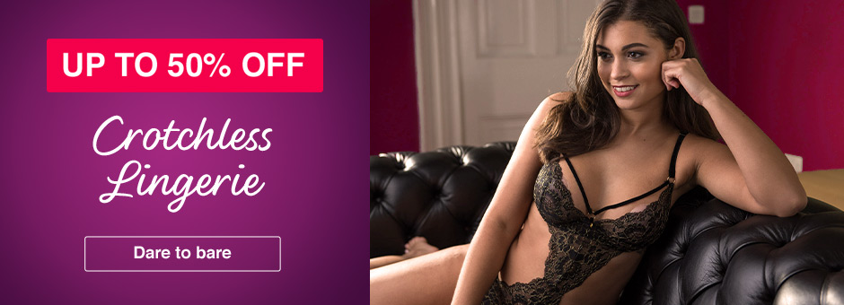 Up to 50% OFF Crotchless Lingerie